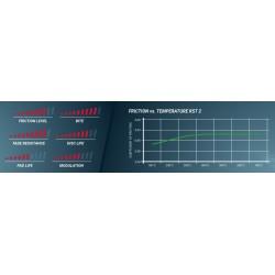 PAGID RACING BRAKE PADS 1539 RST2