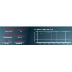 PAGID RACING BRAKE PADS 1270 RST5