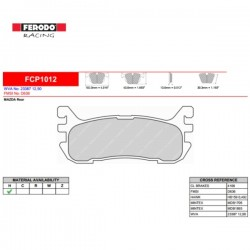 FERODO RACING Brake pads FCP1012H