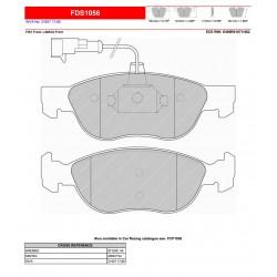 FERODO DS PERFORMANCE-Pastiglie freno FDS1056